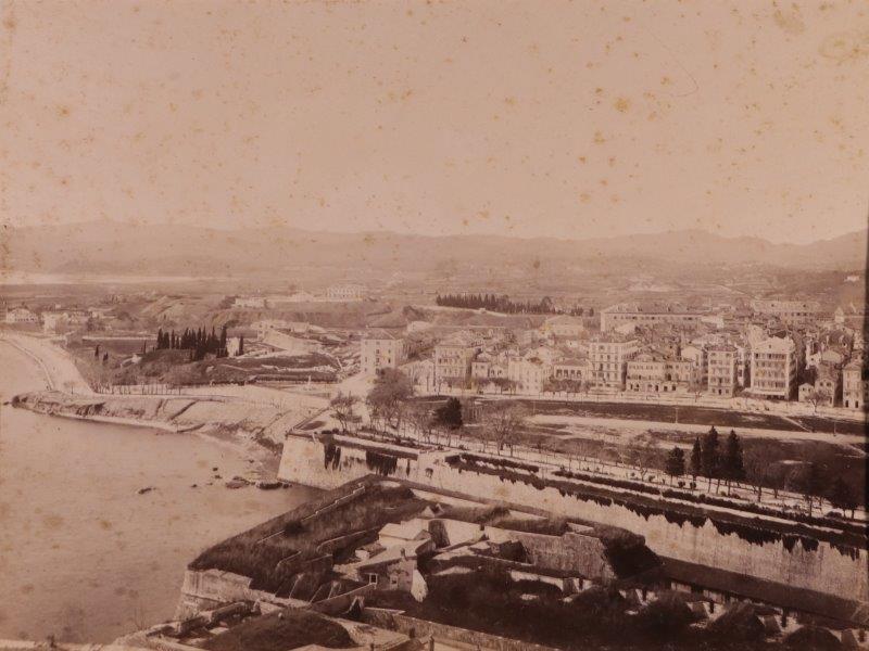 Ricordo di Corfu #01: View of the Esplanade from the Old Fortress, Corfu