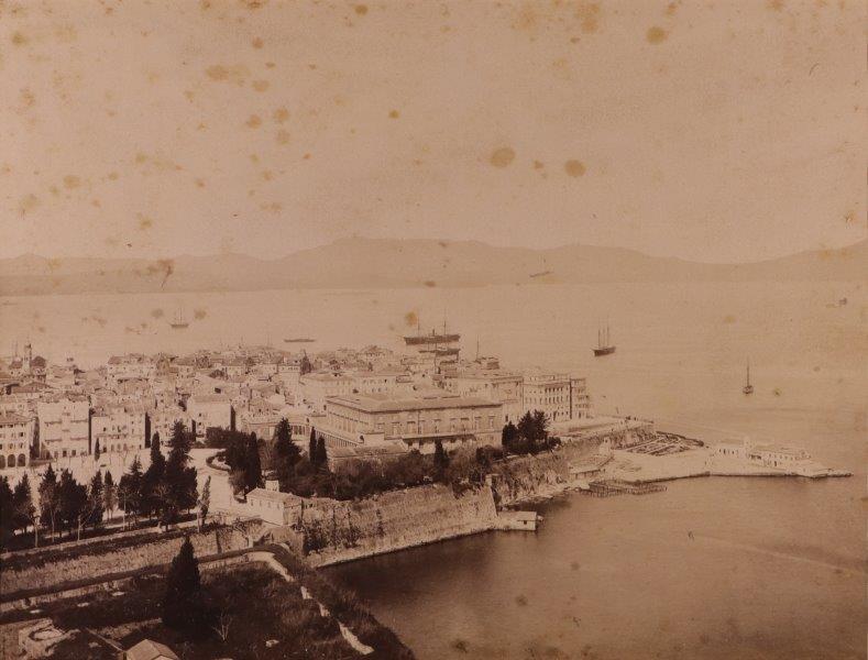 Ricordo di Corfu #02: View of the Palace of St Michael & St George, Corfu