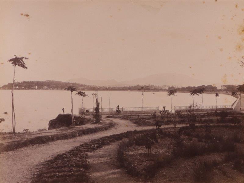 Ricordo di Corfu #06: View of Aneomomylos from the Garitsa Waterfront, Corfu