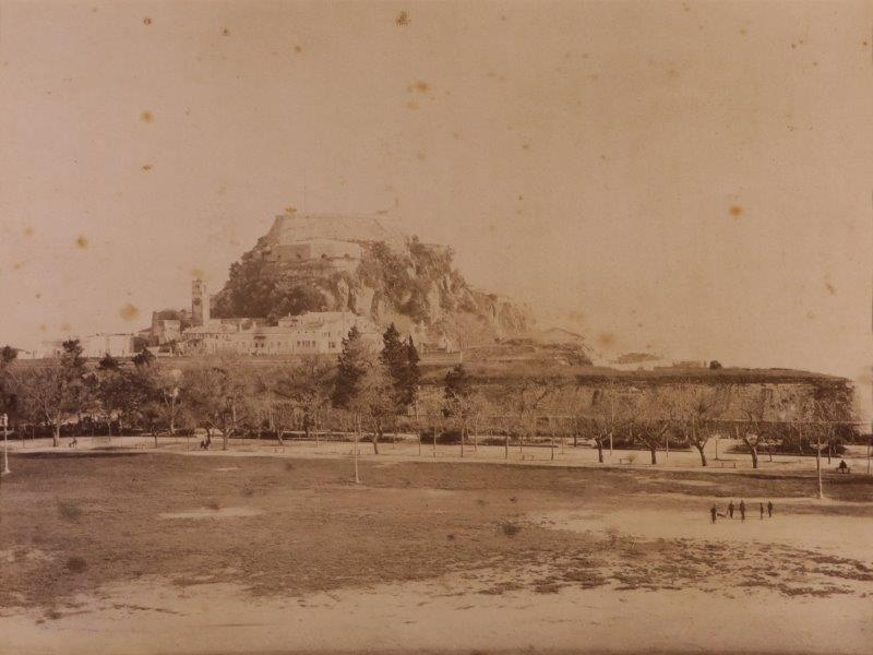 Ricordo di Corfu #11: View of the Old Fort from the Esplanade, Corfu Town