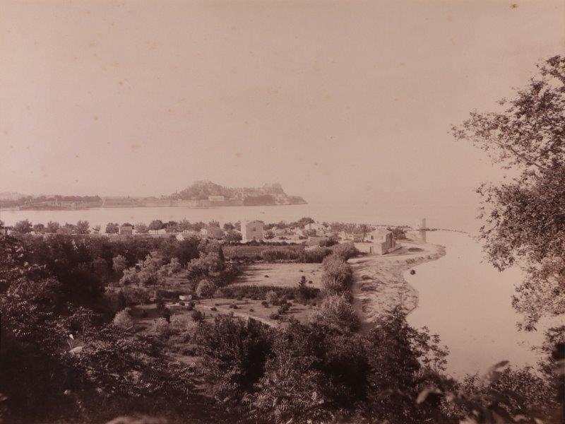 Ricordo di Corfu #12: View of the Old Town & Anemomylos from Mon Repos, Corfu